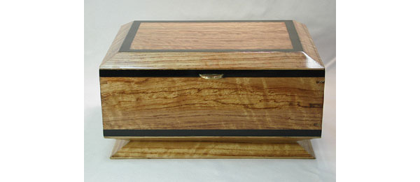 Handmade keepsake wood box - Bubinga Box