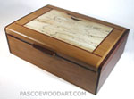 Pearwood Box - Decorative business card box