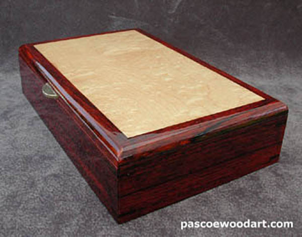 Cocobolo man's box