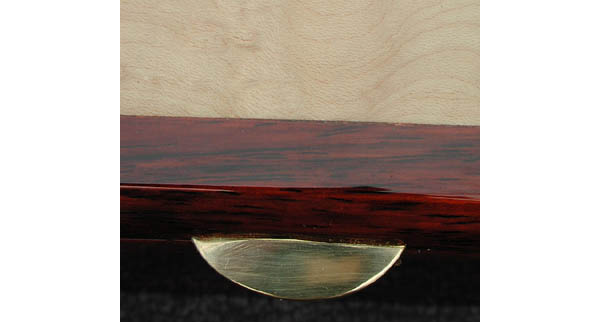 Pascoe's Wood Art: Handcrafted wood box for man - Cocobolo and blistered maple
