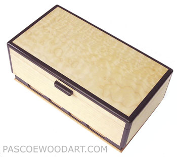 Desert Sands - Bleached big leaf maple box