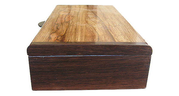 Hondras rosewood box end