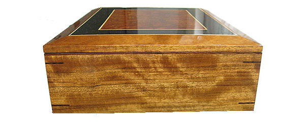 Shedua box end - Handmade large wood box