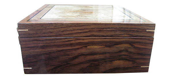 Indian rosewood box side
