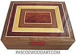 Handcrafted large wood box L-46