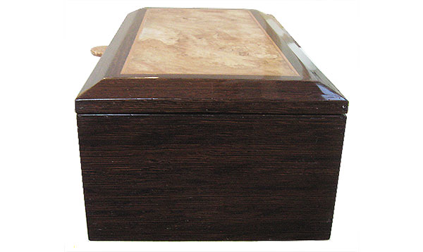 Venge box side - Handcrafted wood box