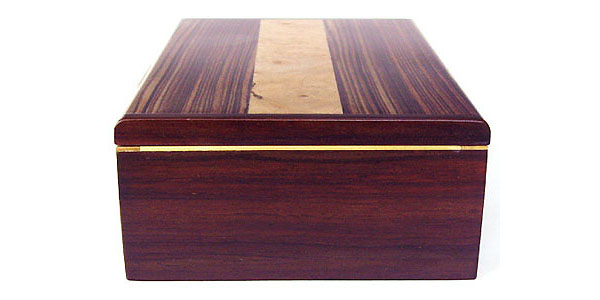 Bois de rose box side view - Decorative keepsake box