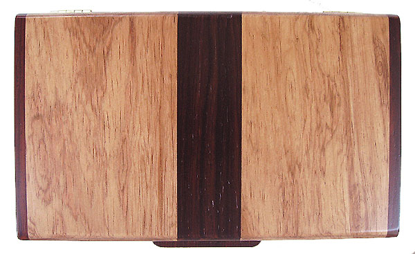 Honduras rosewood and cocobolo wood box top