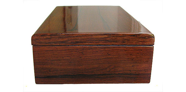 Palisander box end - Handcrafted wood box