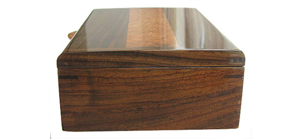 Indian rosewood box end - Handmade wood box