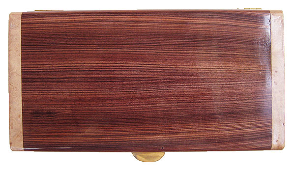 Brazilian kingwood box top - Handmade wood decorative keepsake box