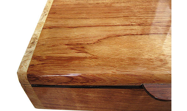 Bubing box top close up - Handmade wood box