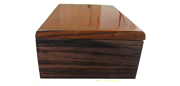Asian ebony box end