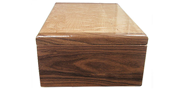 Santos rosewood box end - Handmade wood box