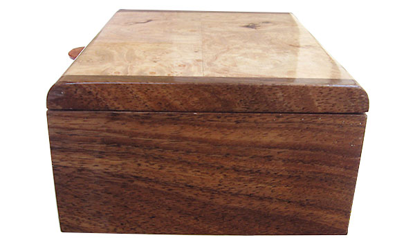 Hawaiian koa box end - Handmade wood box