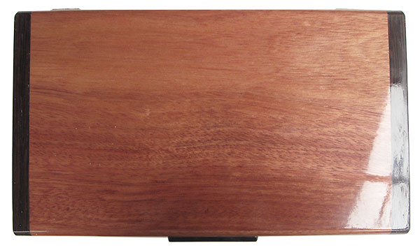 Bloodwood box top - Handmade wood keepsake box