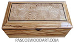 Handcrafted wood keepsake box M-95