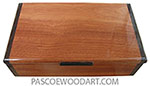Handmade wood keepsake box M-96
