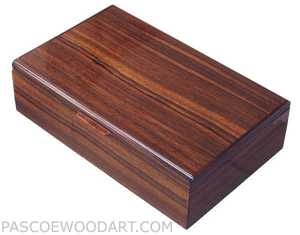 Handmade Men S Valet Box Decorative Keepsake Made Of Asian Ebony