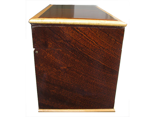 Sapele box side - Handmade wood box