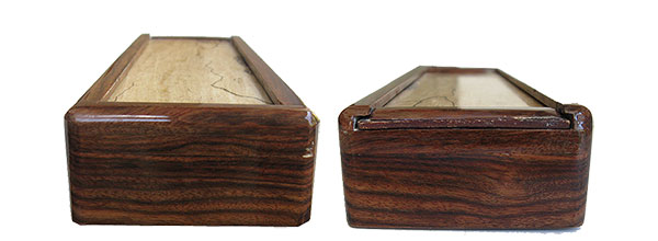 Handmade Decorative Wood Pill Box Weekly Pill Organizer