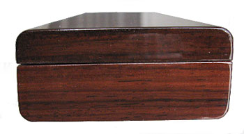 Bois de rose pill box end - Handcrafted weekly pill box
