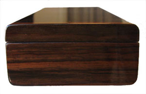 Indian rosewood box end - Handmade weekly pill organizer - 7 day pill box