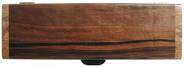 Indian rosewood box top - Handmade decorative wood weekly pill box - 7 day pill organizer