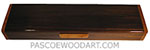 Handcrafted wood weekly pill box - decorative wood 7 day pill organizer made of Indian rosewood, madrone burl