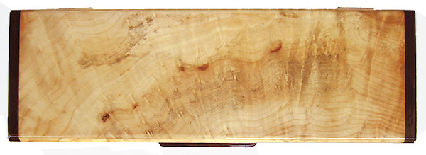 Pacific madrone burl weekly pill box top - Decorative twice a day 7 day pill organizer