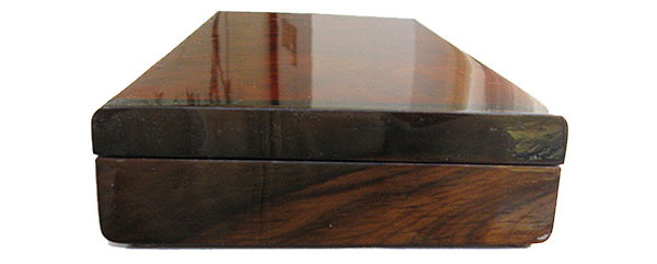 Asian ebony pill box end