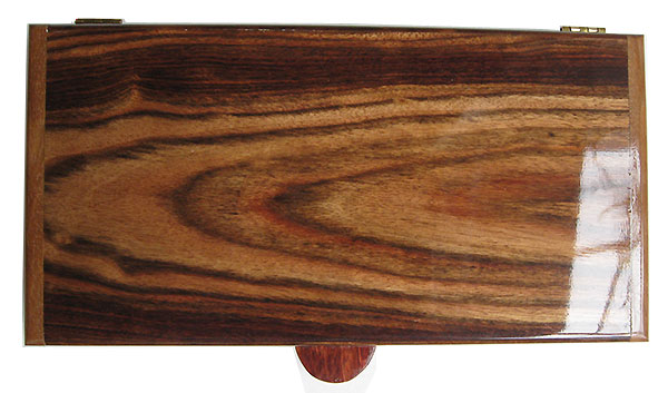 Chechen pill box top - Handmade wood twice a day weekly pill organizer