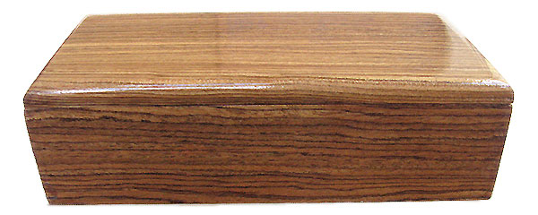 Bocote box front - Handmade small wood box