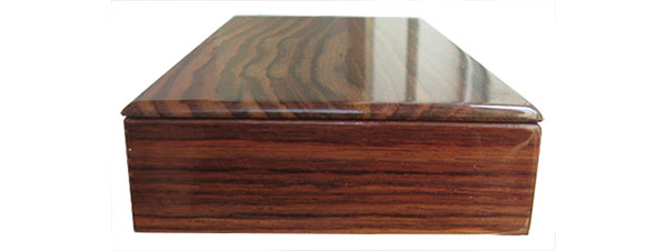 East Indian rosewood box side view
