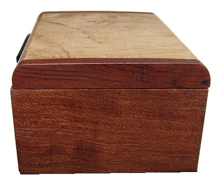Bubinga box end
