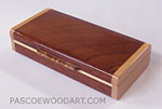 Handmade Sapele wood small box
