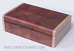 Small wood box - small keepsake box