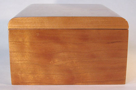 Cherry wood box side - Handmade small wood box
