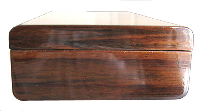 Indian rosewood box end - Handmade small wood box