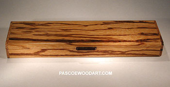 Marblewood box with Cocobolo handle
