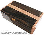 Handcrafted wood box MLV-3