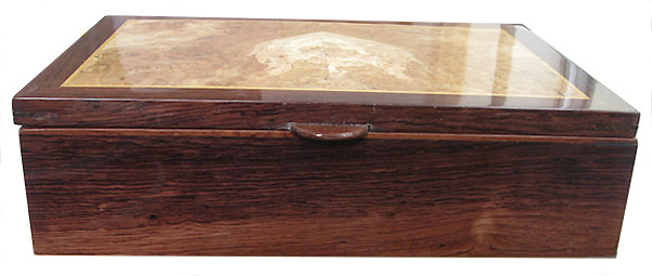 Honduras rosewood box side - Handmade wood box
