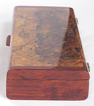 Bubinga end of 7 day pill organizer