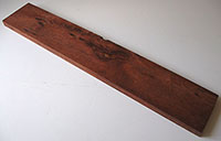 "Bloodwood with Clustered Burl  26-1/2"" x 4-5/6"" x 13/16""- Woodworking Lumber, Exotic Hardwood"